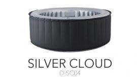 Mspa mobil pezsgőfürdő , masszázsmedence  jacuzzi , Silver Cloud D-SC04