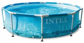 INTEX Kerti medence Beachside Metal Frame 305 x 76 cm