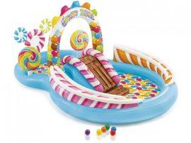 Intex felfújható gyerek medence  Candy Zone Vízi játszótér  Play Center