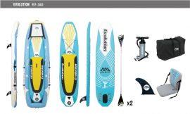 EVOLUTION Aqua Marina 2 az 1-ben kajak és SUP Paddleboard
