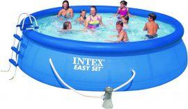 Intex Easy-set medence 457cm x 107 cm Komplett szett.