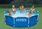 INTEX fémvázas medence 305x76cm