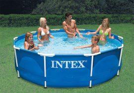 INTEX fémvázas medence 305x76cm 28200