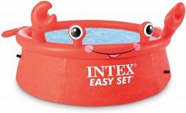 Kerek felfújható medence Intex 26100 (183 x 51 cm) Happy Crab Easy Set