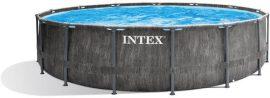 Intex fémvázas medence sett Greywood Prism 457x122cm (26742)