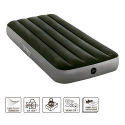 Intex  felfújható ágy , beépített pumpával