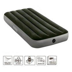 Intex  felfújható ágy , beépített pumpával  Fibre Tech 64760
