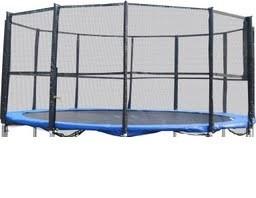 Trambulin biztonsági háló , védőháló 457 - 460cm 15'        10 oszlopos  !!!