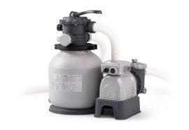 Intex nagy teljesítményű homokszűrős vízforgató 5,7m3/h