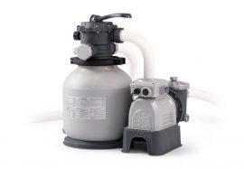 Intex nagy teljesítményű homokszűrős vízforgató 5,7m3/h  26646