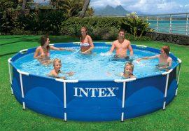 INTEX medence 366x76cm  fémvázas