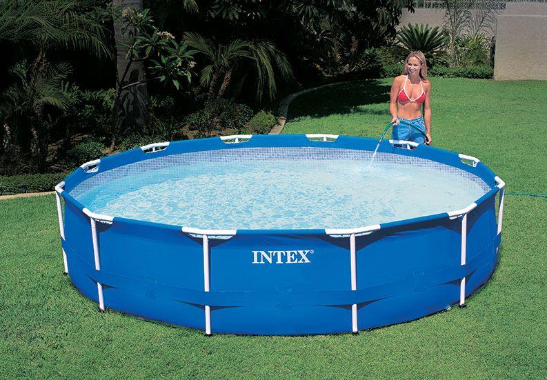Intex Medence 366x76cm F 233 Mv 225 Zas Sportstore