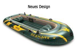INTEX Gumicsónak,horgászcsónak. SEAHAWK 4 400kg