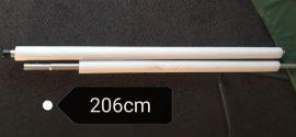 Trambulin védőháló tartó rúd + szivacs , csavar.