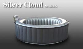 Mspa  mobil pezsgőfürdő masszázsmedence  jacuzzi , Silver Cloud M- 021LS  ,