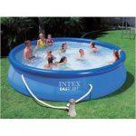 Intex Easy-set medence 457cm x 84cm + vízforgató